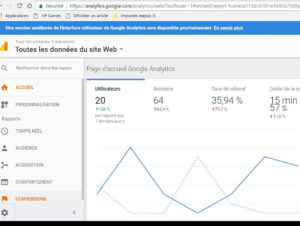google-analytics l'outil d'analyse d'audience