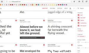 Google Fonts l'outil qui donne belle allure à votre texte